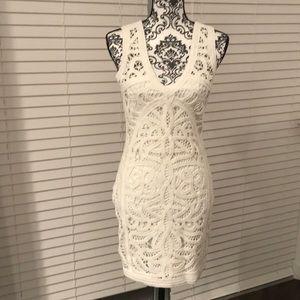 Bardot Australia white lace dress gorgeous NWT 6